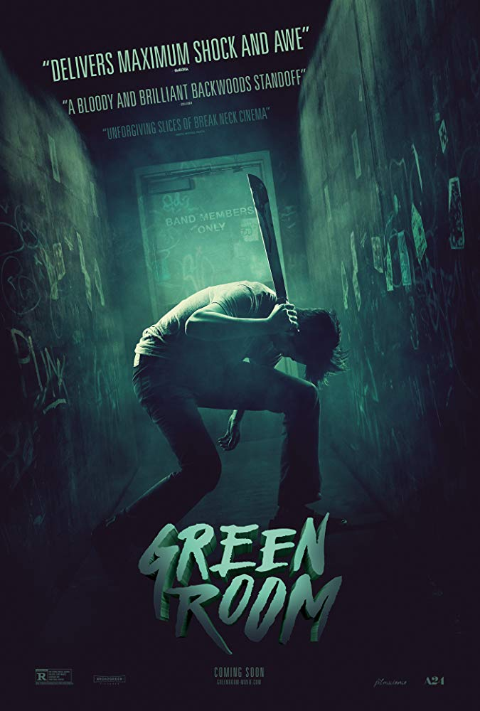 green-room poster
